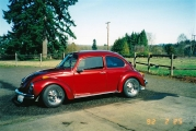 Mein erstes Auto :: 1973 Candy Apple Red Super Beetle